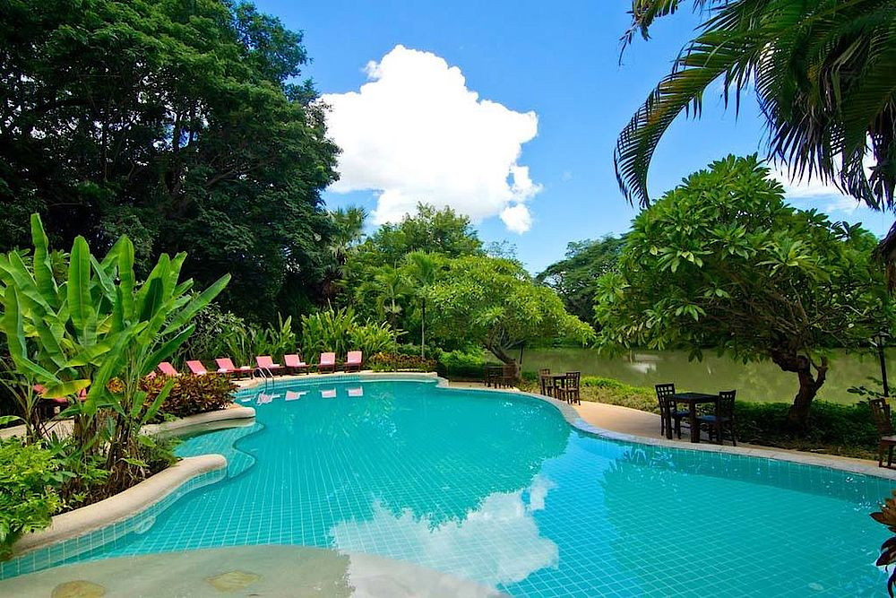 Pool, Lampang River Lodge, Thailand Reise