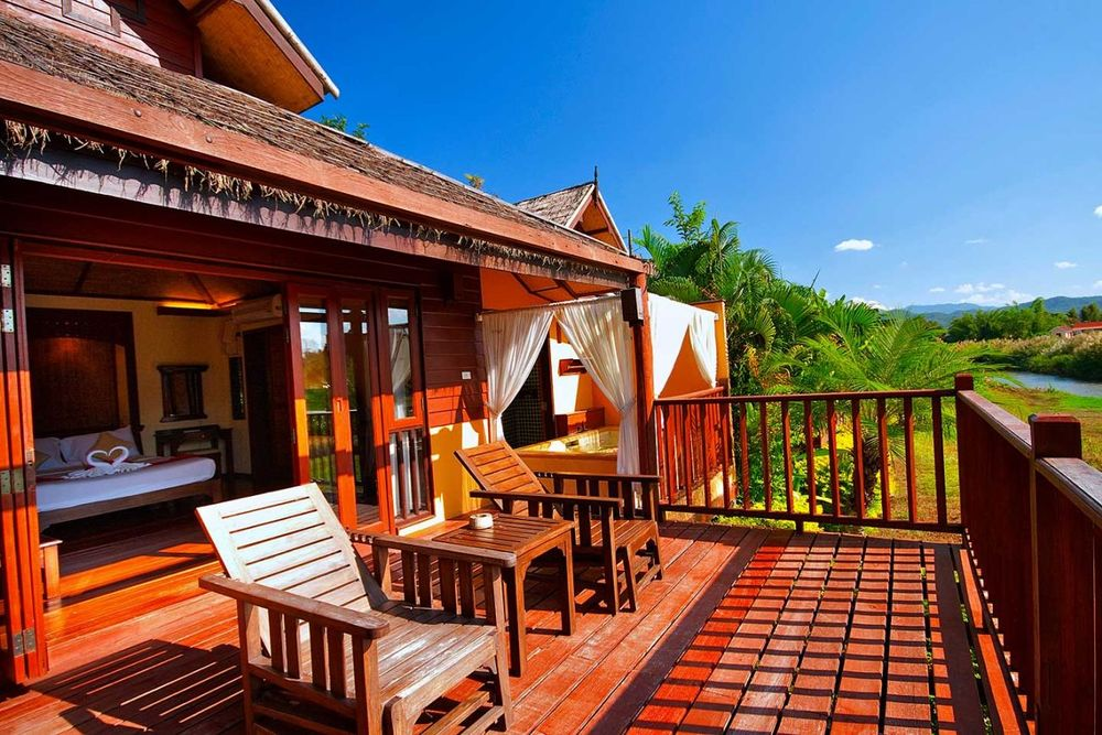 Chalet Terrasse, Pai Hotsprings, Thailand Reise