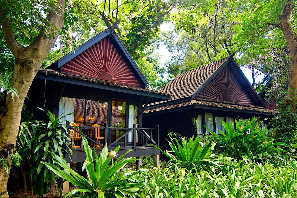 Lodges, Lampang River Lodge, Thailand Reise